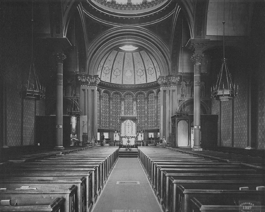 Hilborne L. Roosevelt organ, P. 238 (1888) in Christ Church (Episcopal) - New York City