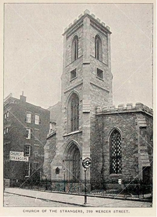 Church of the Strangers (Mercer Street, 1893) - New York City