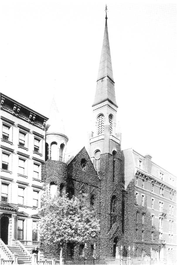 Church of the Strangers (57th Street) - New York City (credit: New-York Historical Society)