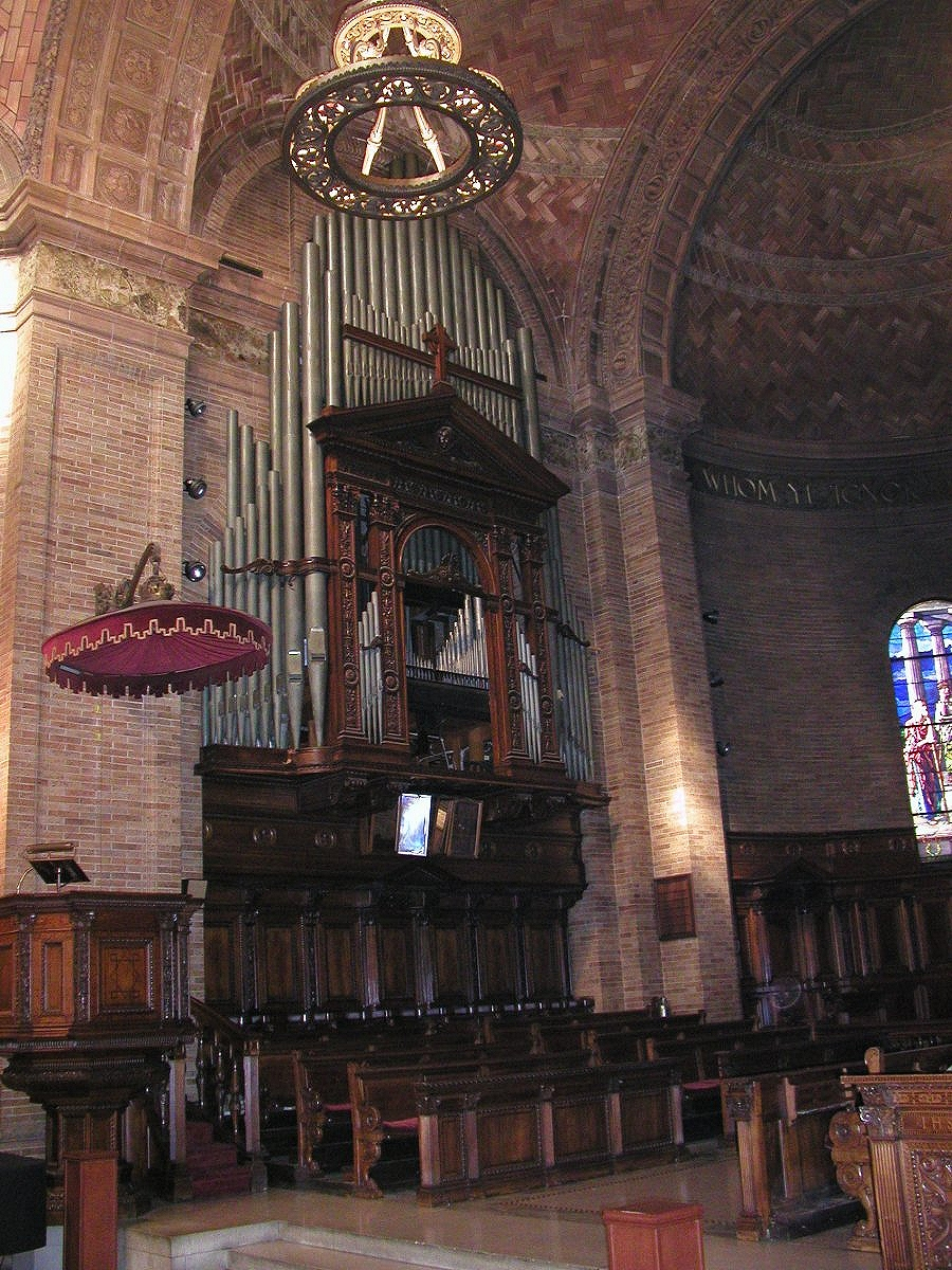 Organ Case - St. Paul's Chapel - Columbia University - New York City