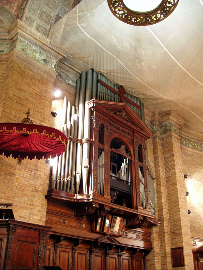 Organ Case in 2008 - St. Paul's Chapel - Columbia University - New York City (photo: Steven E. Lawson)