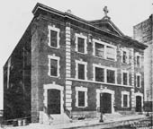 Original building (1907-1936) of Corpus Christi Catholic Church - New York City