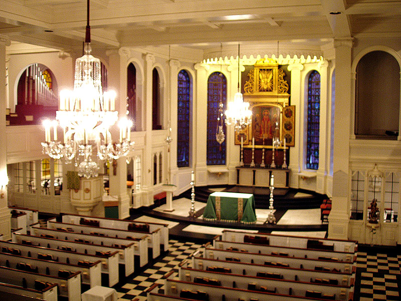 Corpus Christi Catholic Church - New York City (photo: Steven E. Lawson)
