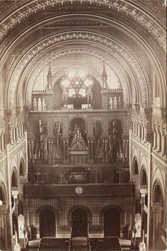 Hall, Labagh & Co. organ (1869) in Temple Emanu-El - New York City