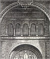 Echo facade of Odell Organ (Op. 386, 1901) - Temple Emanu-El - New York City (Odell Company Catalog)
