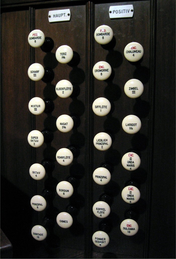 Aeolian-Skinner Organ, Op. 1412 (1961) at Church of the Epiphany (Episcopal) - New York City (Photo: Steven E. Lawson)