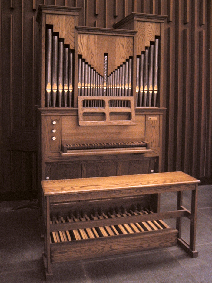 Bedient Organ, Op. 34 (1991) in the Chapel of the Episcopal Church Center - New York City (Photo: Steven E. Lawson)