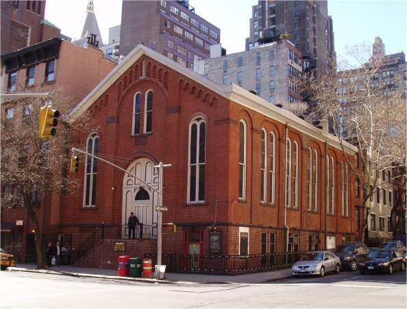First Moravian Church - New York City (photo: Steven E. Lawson)
