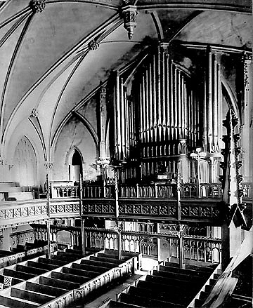 Roosevelt Organ (Op. 368, 1887) at First Presbyterian Church - New York City (Photo: First Presbyterian Church)