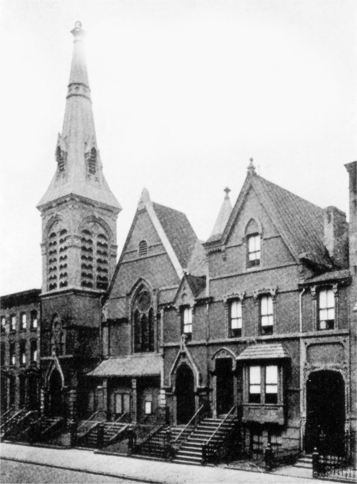 317 East 50th Street building (1921-1930) - First Reformed Episcopal Church - New York City (Photo: First Reformed Episcopal Church)