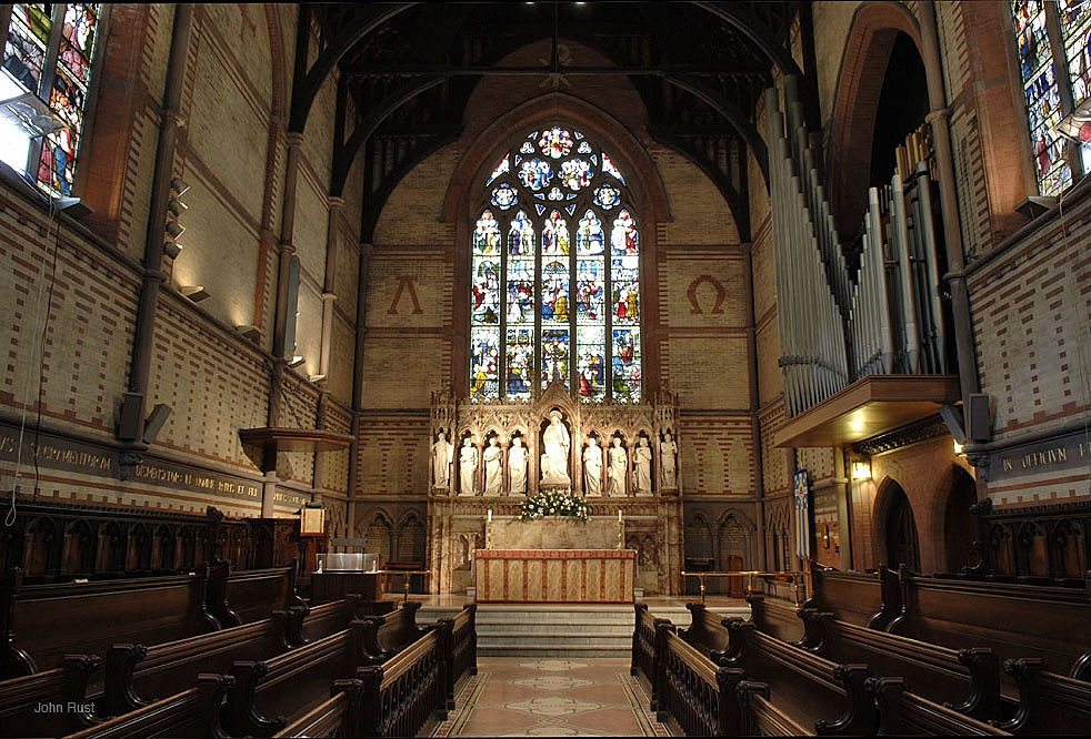 Chapel of the Good Shepherd, General Theological Seminary - New York City (photo: John Rust)