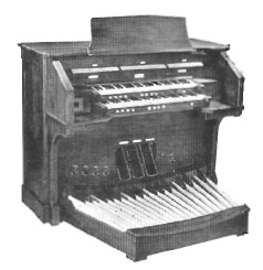 Allen custom electronic organ (1966) - Good Shepherd Episcopal Church - New York City