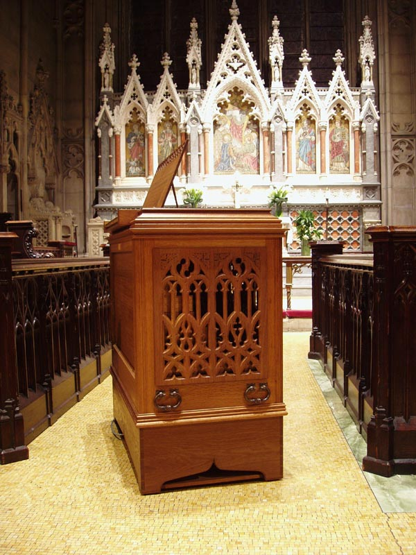 Taylor & Boody Chamber Organ, Op. 61 (2007) in Grace Episcopal Church - New York City (Steven E. Lawson)