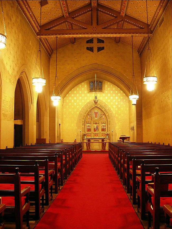 Chapel of the Beloved Disciple at Church of the Heavenly Rest - New York City (photo: Steven E. Lawson)