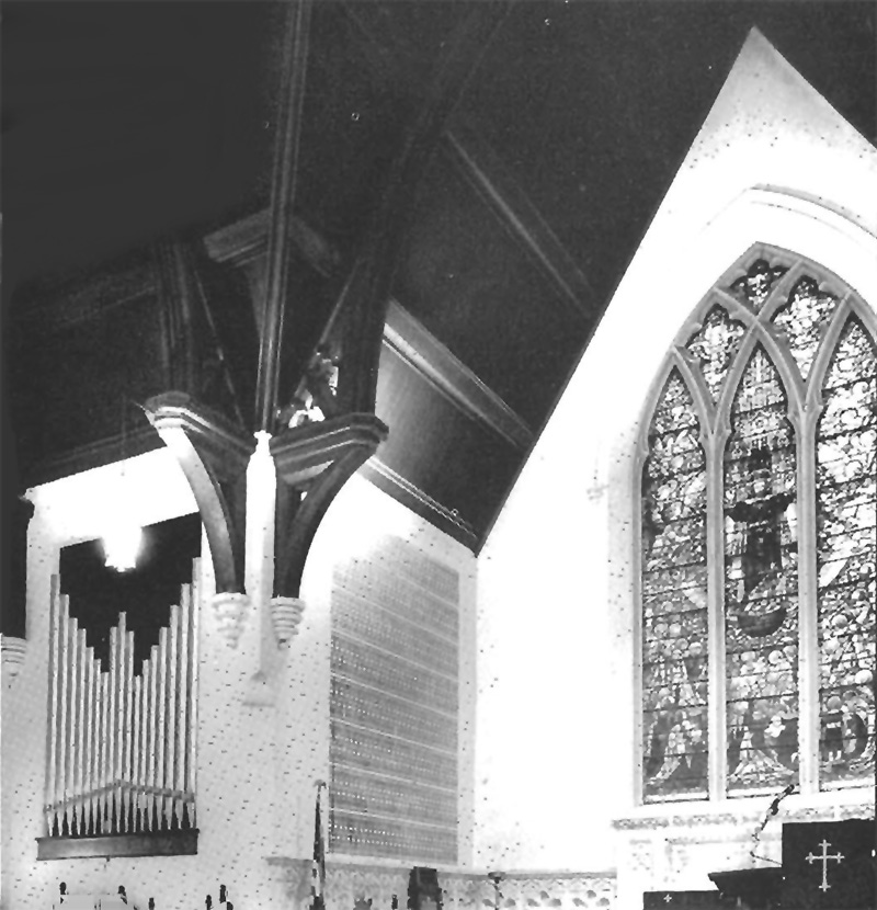 Schantz Organ, Op. 1200 (1972) in Holy Communion Episcopal Church - New York City