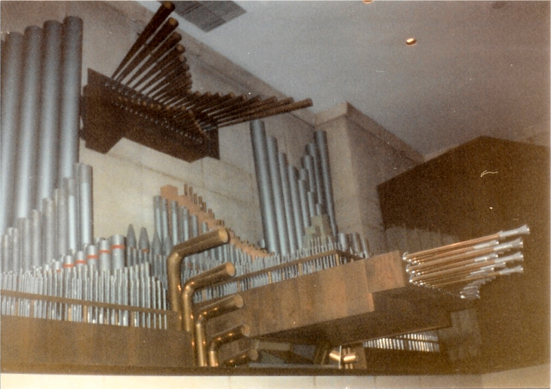 Delaware Organ (1966) at Holy Family RC Church - New York City (Courtesy Holy Family Church)