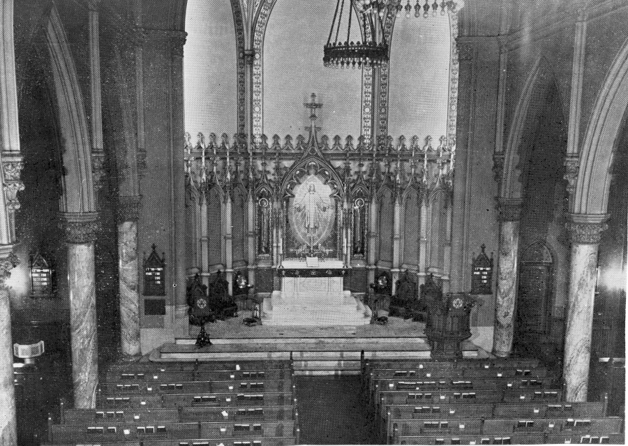 Early Photo - Evangelical Lutheran Church of the Holy Trinity - New York City (Photo: Holy Trinity Lutheran Church)