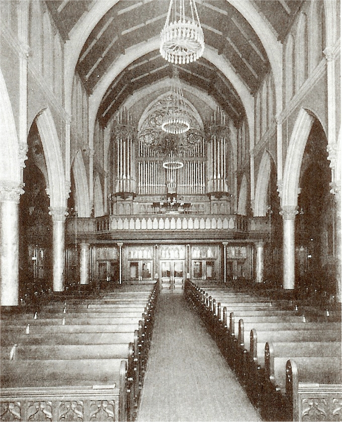 Ernest M. Skinner Organ Case (1903)  - Evangelical Lutheran Church of the Holy Trinity - New York City