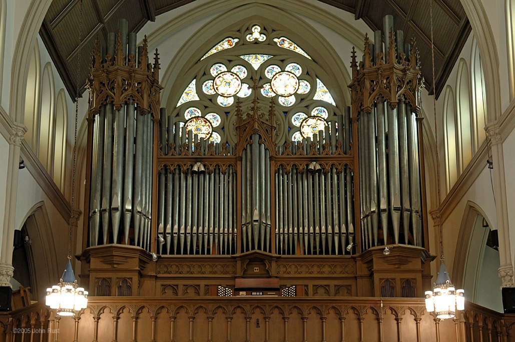 Ernest M. Skinner Organ Case (1903)  - Evangelical Lutheran Church of the Holy Trinity - New York City (Photo: John Rust)