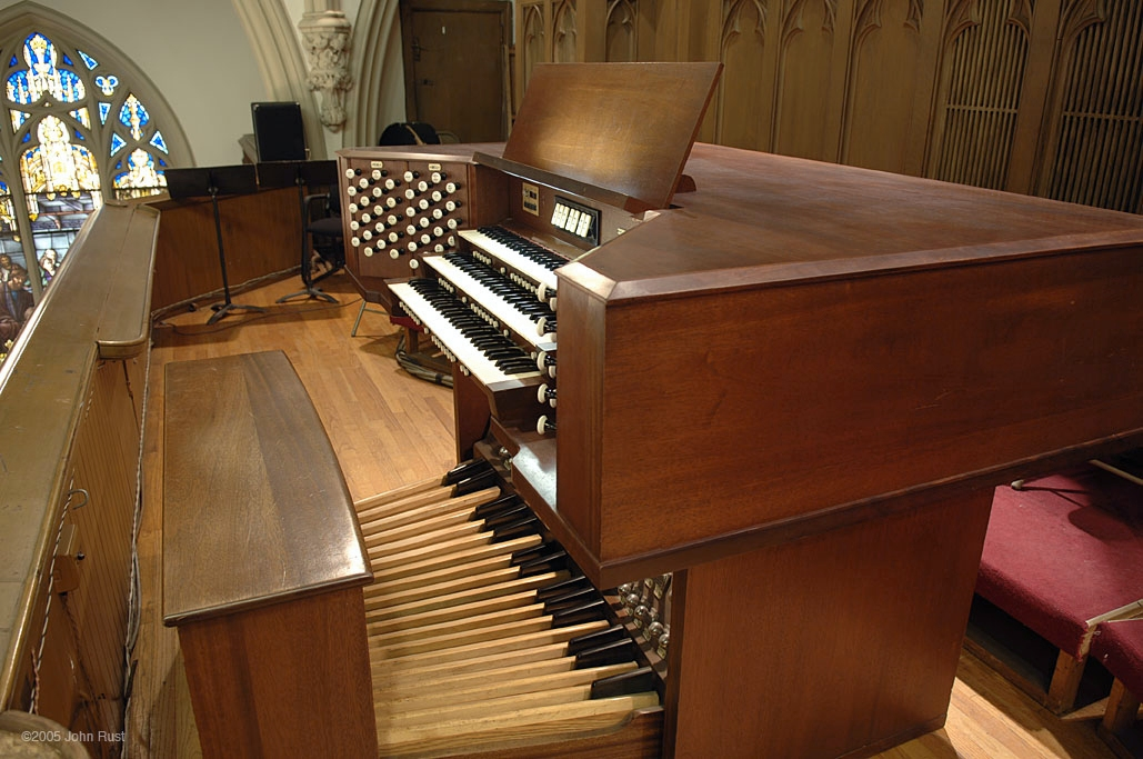 Robert M. Turner Organ (1976)  - Evangelical Lutheran Church of the Holy Trinity - New York City (Photo: John Rust)