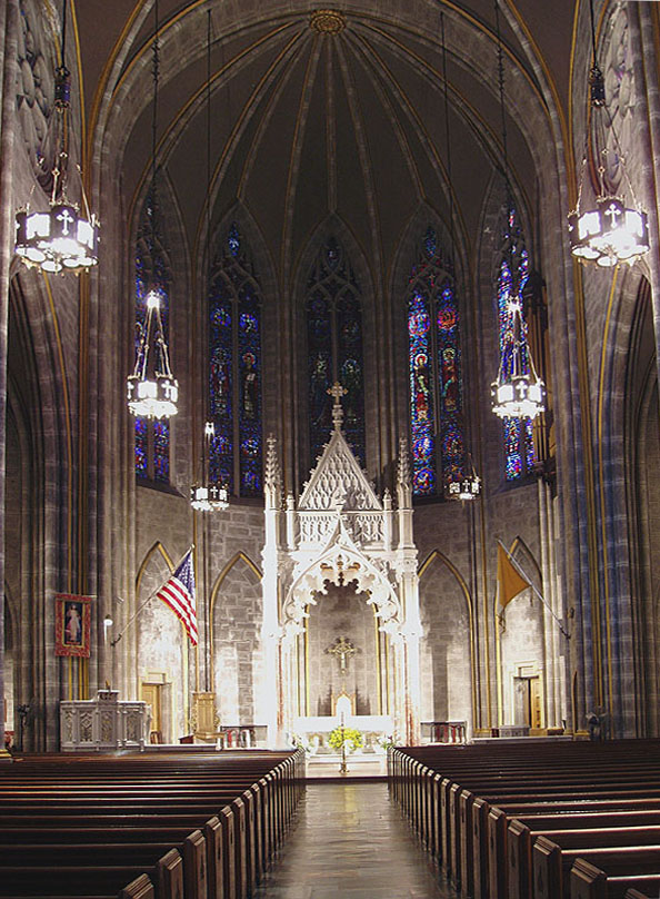 Roman Catholic Church of the Incarnation - New York City (photo: Steven E. Lawson)