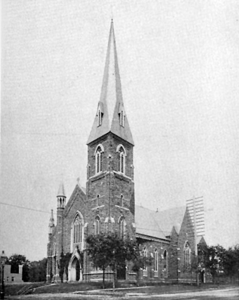 Church of the Intercession - New York City (Nickerson's Illustrated Church, c.1895)