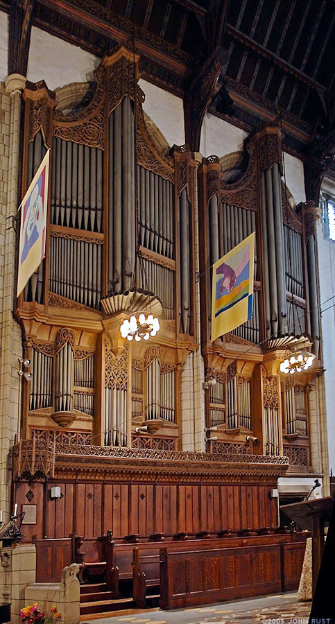 Organ Case at Church of the Intercession - New York City (Photo: John Rust)