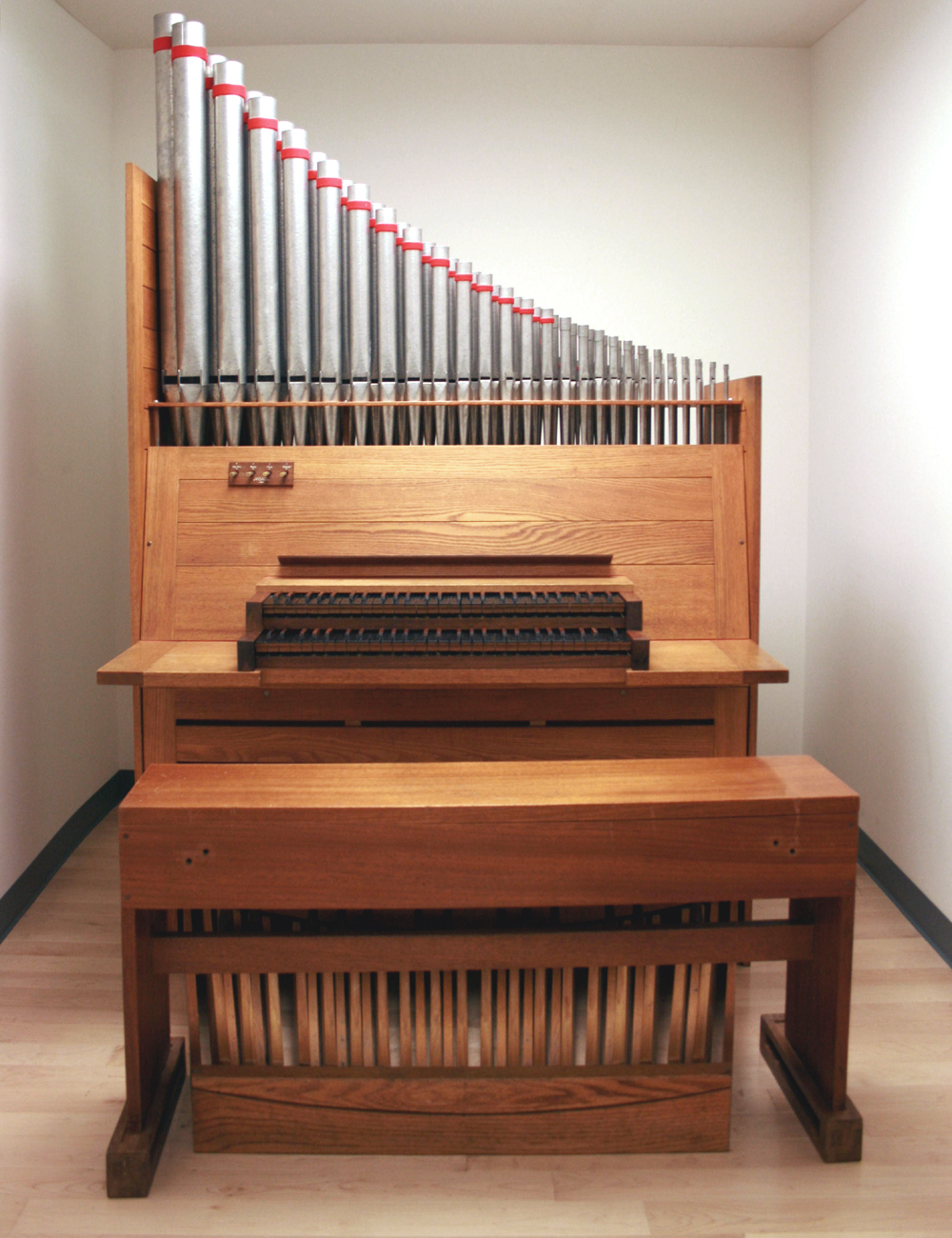 Noack Organ (1969) at The Juilliard School - New York City  (photo: Steven E. Lawson)