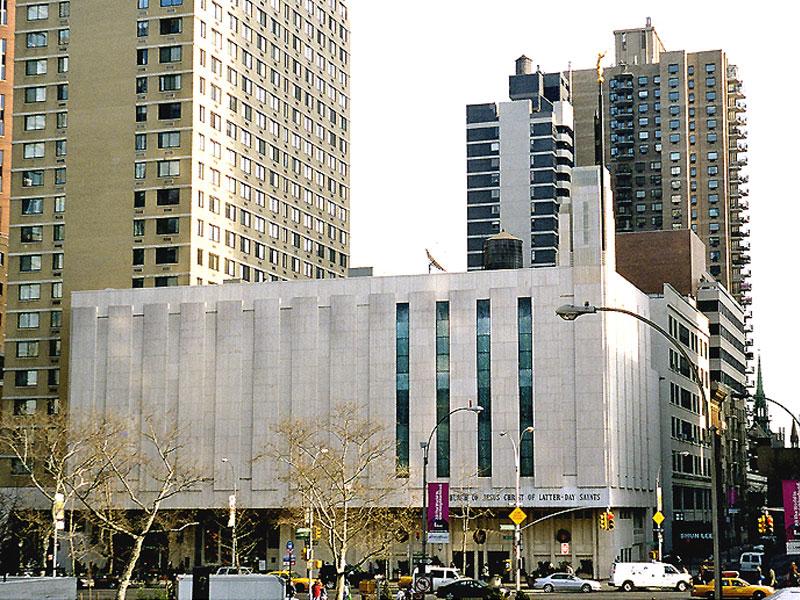 Church Of Jesus Christ Of Latter Day Saints New York City