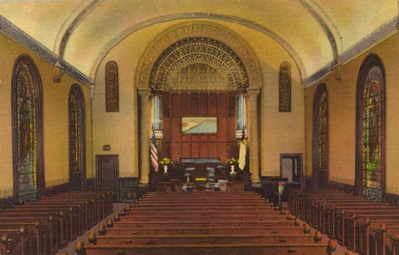 Madison Avenue Baptist Church - New York City (1960 Postcard)