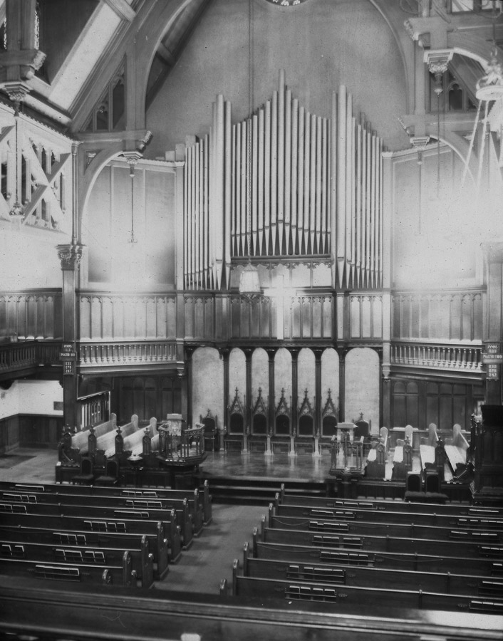 Sanctuary (c.1939) of Madison Avenue Presbyterian Church - New York City