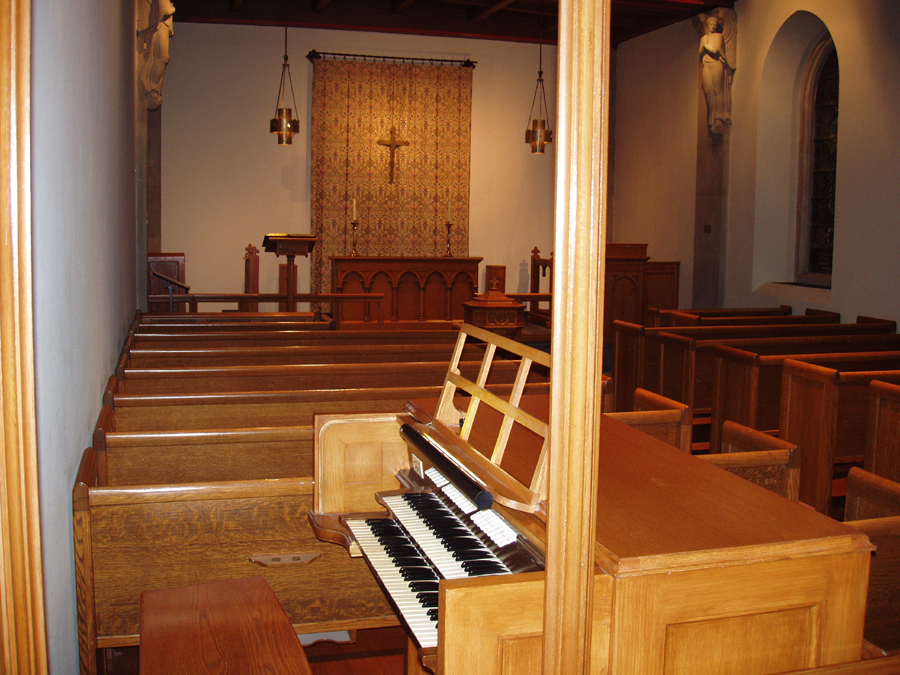 Schantz Organ in Dana Chapel at Madison Avenue Presbyterian Church - New York City (photo: Steven E. Lawson)
