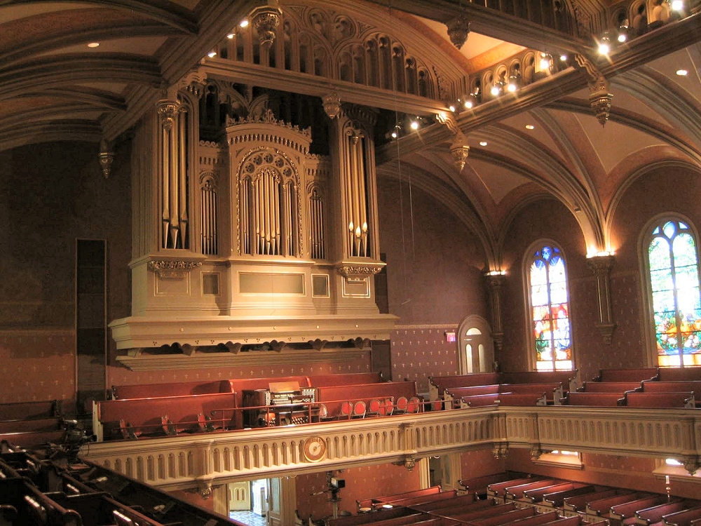 Austin Organ, Op. 2689 (1984) at Marble Collegiate Church - New York City (photo: Steven E. Lawson)