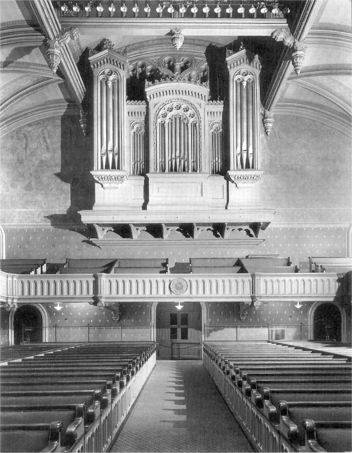 Austin Organ, Op. 2006 (1937) at Marble Collegiate Church - New York City (photo: Organ Historical Society)