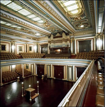Austin Organ, Op. 244 (1909) in the Grand Lodge Room of Masonic Temple - New York City (photo: Masonic Temple)