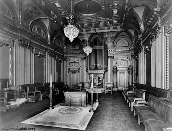 Austin Organ (1909) in the Renaissance Room 1909 of Masonic Temple - New York City