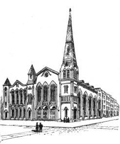 Memorial Presbyterian Church - New York City (Frank Leslie's Sunday Magazine, 1882)