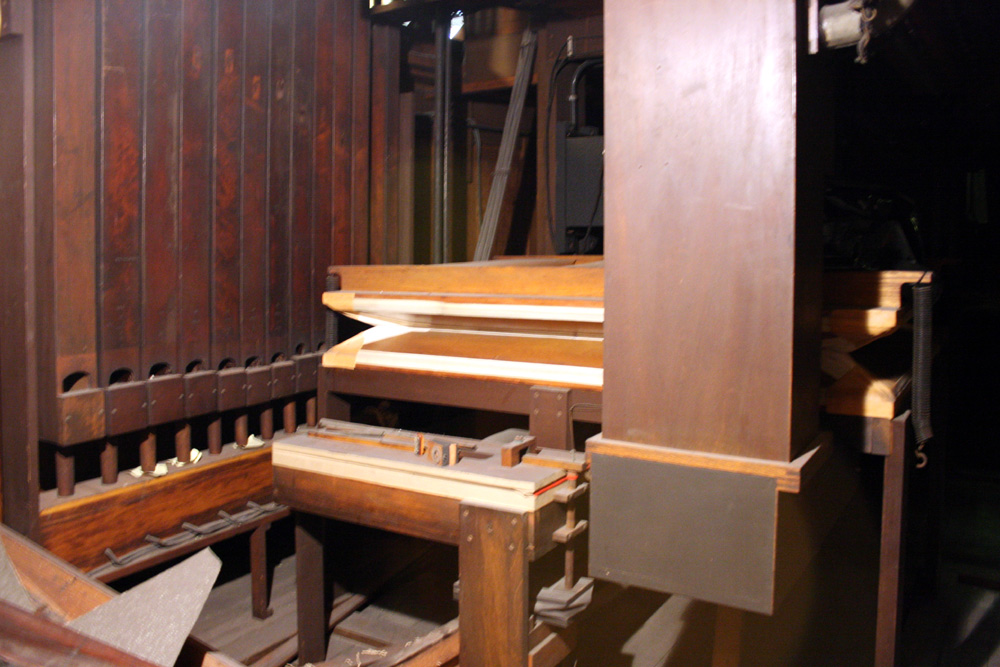 Frank Roosevelt Organ, Op. 504 (1891) in Most Holy Redeemer Catholic Church - New York City (photo: Steven E. Lawson)
