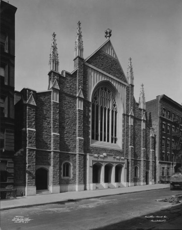 Mother A.M.E. Zion Church - New York City (Wurts Bros., 1925)