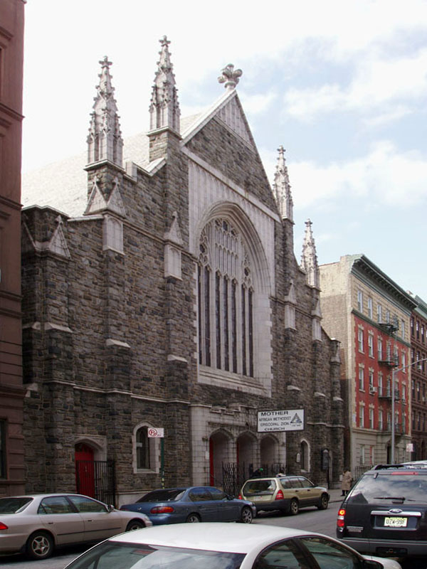 Mother Zion A.M.E. Church - New York City (photo: Steven E. Lawson)