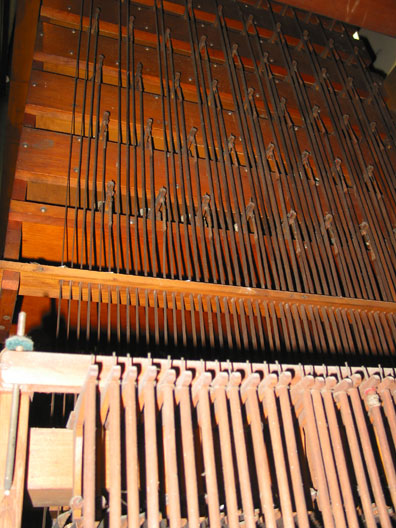E. & G.G. Hook & Hastings Organ, Op. 668 (1872)  at Mt. Moriah Baptist Church - New York City (photo: John Bishop, Organ Clearing House)