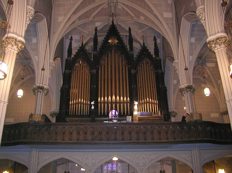 1868 Erben Organ at Old St. Patrick's Cathedral - New York City