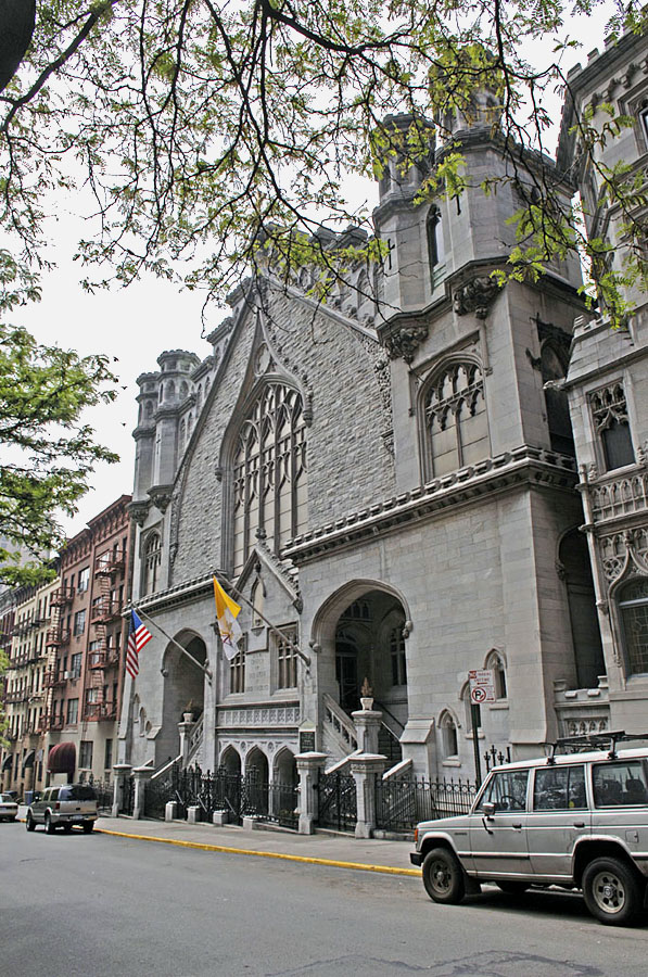 Our Lady of Good Counsel Catholic Church - New York City (photo: John Rust)