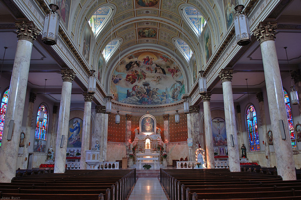 Our Lady of Pompei Catholic Church - New York City (Photo: John Rust)