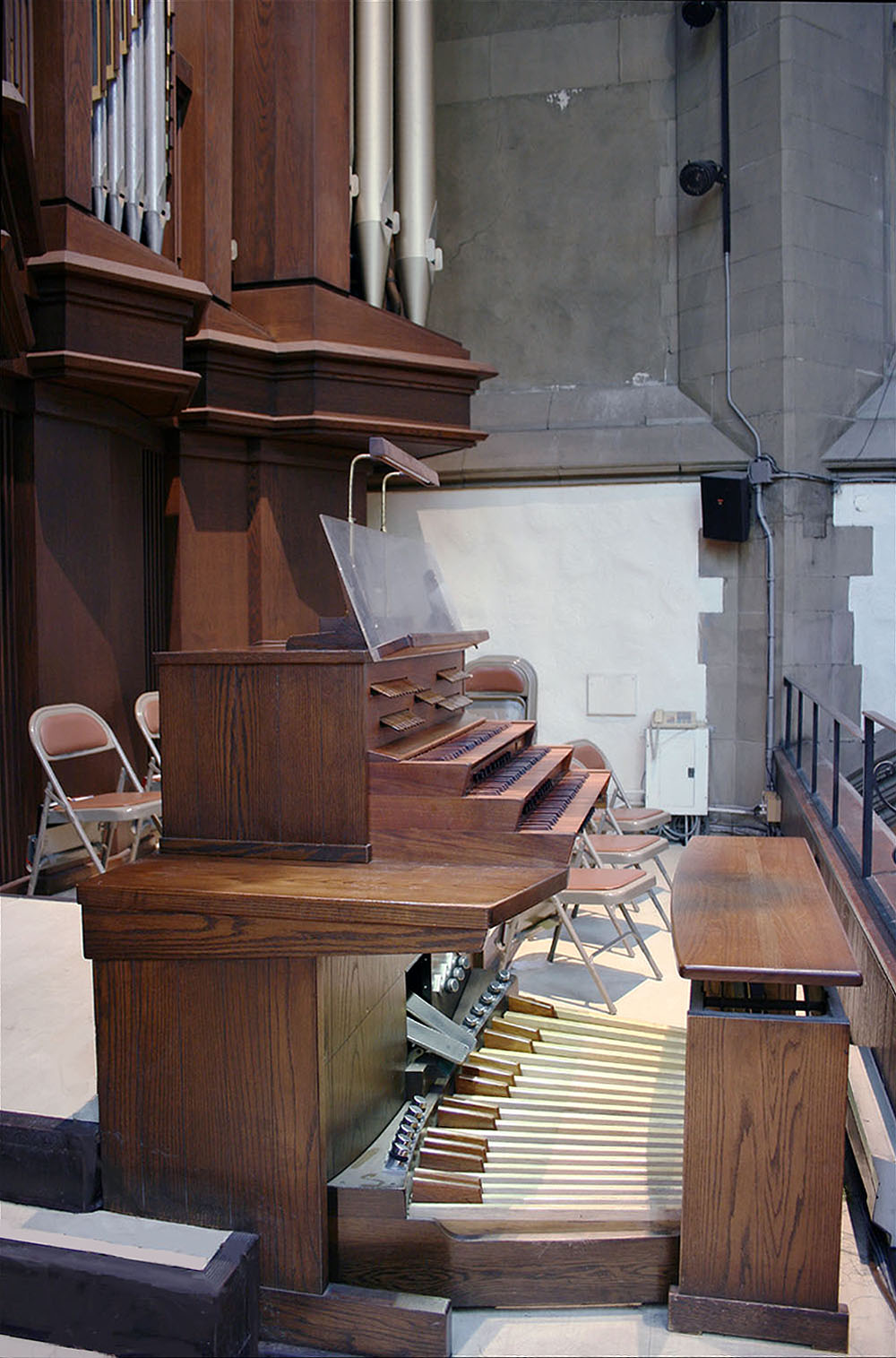 Holtkamp Organ, Op. 1967 (1982) - Park Avenue Christian Church - New York City (photo: Steven E. Lawson)
