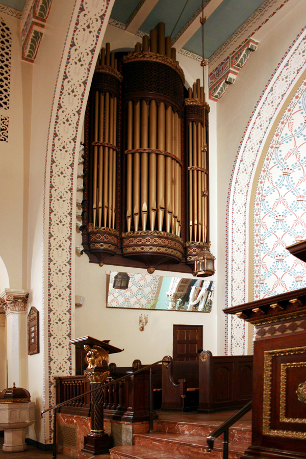 Skinner Organ Case, Op. 587 (1926)  at Park Avenue United Methodist Church - New York City (Photo: Steven E. Lawson)