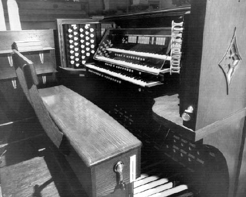 Schantz Organ, Op. 1022 (1971) at Park Avenue United Methodist Church - New York City (Photo: Schantz Organ Company)