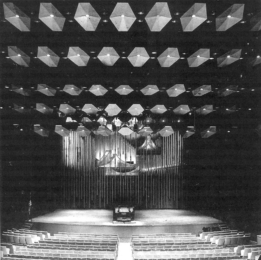 Aeolian-Skinner Organ, Op. 1388 (1962) in Philharmonic Hall (Lincoln Center) - New York City (The American Organist, Feb. 1963)