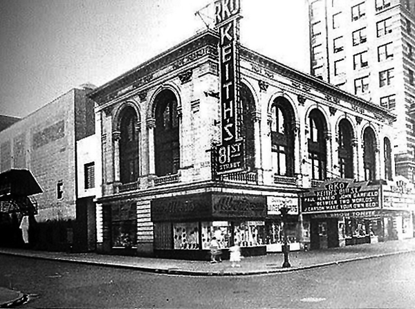 1944 Photo Of RKO 81st Street Theatre