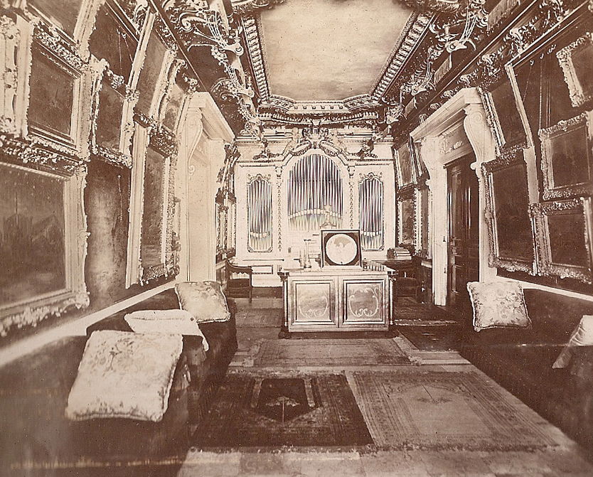 Art Gallery and Aeolian Organ, Op. 930 (1902) in M.C.D. Borden Residence - New York City